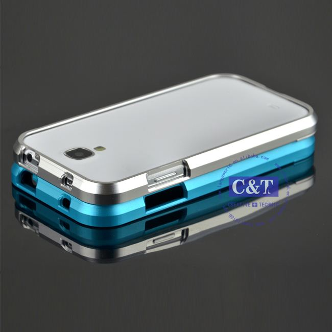 C&T Frame Bumper for samsung galaxy s4 aluminum case