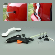 Economical alternative to costly set sag repair tools to remove car dents easily and flawlessly