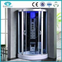 Complete portable steam shower box,cheap high quality durable strong bathroom cabinet