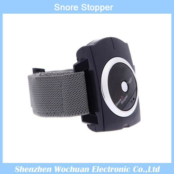 Stop Snoring Wristband Anti-Snore Blocker Stopper infrared intelligent Stop Aid