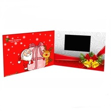 LCD screen wedding invitation video card
