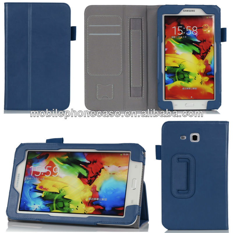 Alibaba China 7 Inch Tablet Case PU Leather Flip Cover For Samsung Galaxy Tab 3 Lite 7inch T110