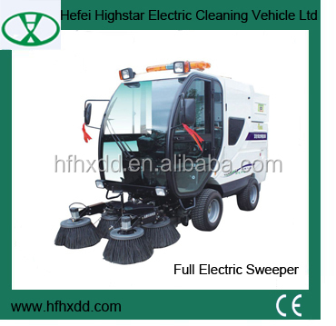 high quality electric street sweeper for sale