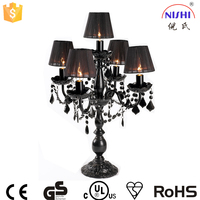 modern living room lamps acrylic table lamp black color chandelier table lamp