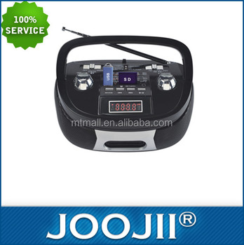Portable multi band radio, low price am/fm boombox radio
