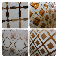 Wholesale various decorative glass with customized pattern