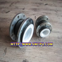 PTFE lined rubber expansion joints with flanges