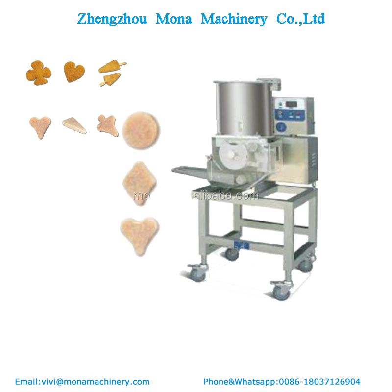Electric Chicken Meat Flattener Stainless Steel flatten machine