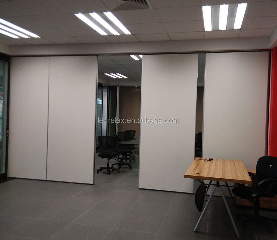 Nusing Acoustic Sliding partition wall/sliding folding wall/movable soundproof wall for exhibition center and conference room