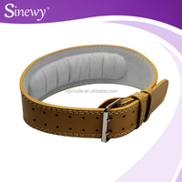 Weight Lifting handmade leather belt