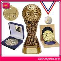 hot sale Gold Olympic Souvenir custom sport medals and trophies