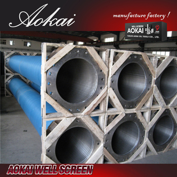 anti-corrosion welded wedge wire screens SS304L with high quality