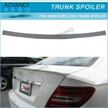 HIGH QUALITY AMG STYLE TRUNK LID SPOILER FOR 2011 2012 MERCEDES-BENZ C204 C-CLASS COUPE