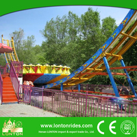 Theme park thrilling and amazing large amusement rides mega disk'o for sale