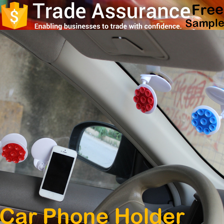 phone accessories 2016 double nano cell holder for auto