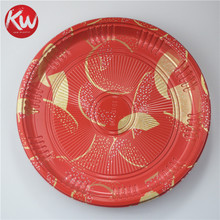 KW1-2103TBJ Wholesale cheap Decorate Lunch Indian Wedding Trays Round