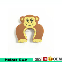 Melors washable soft EVA Door Stops / Dual use Funny Door Stops with factory price