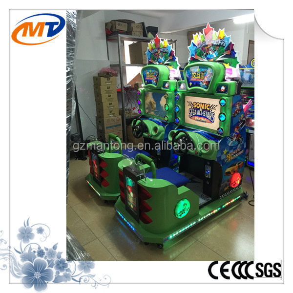 great quality bucket paradise racing car game machine for arcade game center
