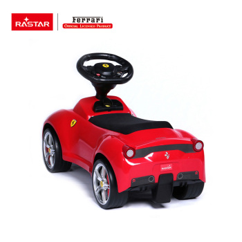 Rastar toy gift Ferrari licensed baby seat car with speaker