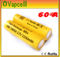Recommend strongly self-owned brand battery Vapcell 18650 li-ion battery high discharge 60A imr18650 3.7V3000mAh battery