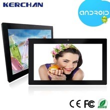 21 inch Flush Mount Wall Mount Android <strong>Tablet</strong> with RJ45 Ethernet Port PoE WiFi/Bluetooth/3G