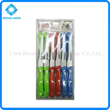 Multi 12PCS Color Kitchen Knife Set Stainless Steel Knife Set