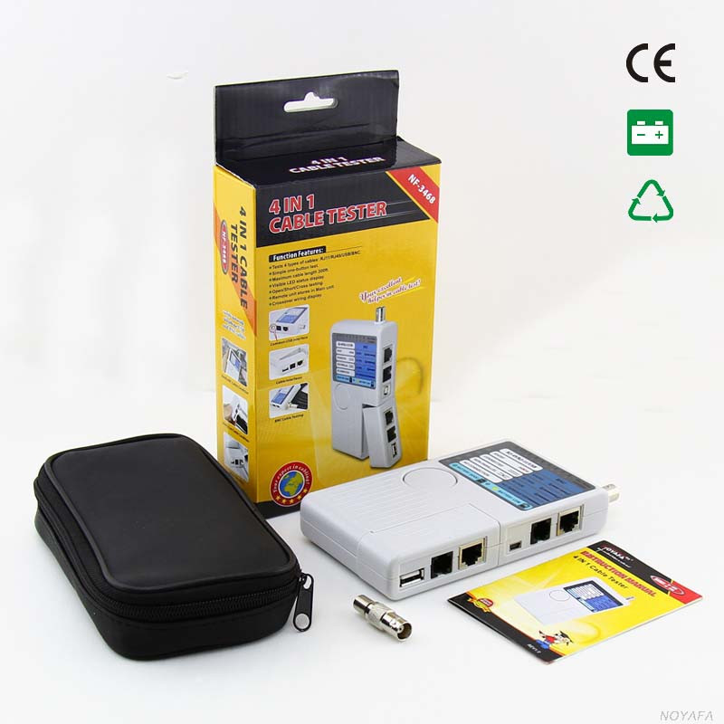 Common using network cable tester network Lan test and measuring instrument