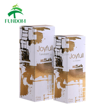 Cheap cardboard paper small glass bottles packaging box for perfume