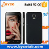 Bar design mobile phone big 5 inch IPS screen dual sim cards brand android cell phone
