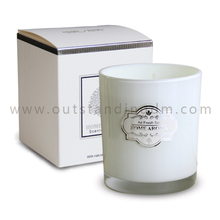 2018 Newest Hot Selling Paraffin Soy Wax Luxury Business Wedding Candle Gift Set Personalized Scented Candle