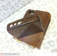 2013 two piece assembly laser engraving bamboo wood cell phone cover case for iphone5