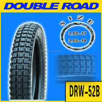 110/90-16 MC tyres with driving pattern