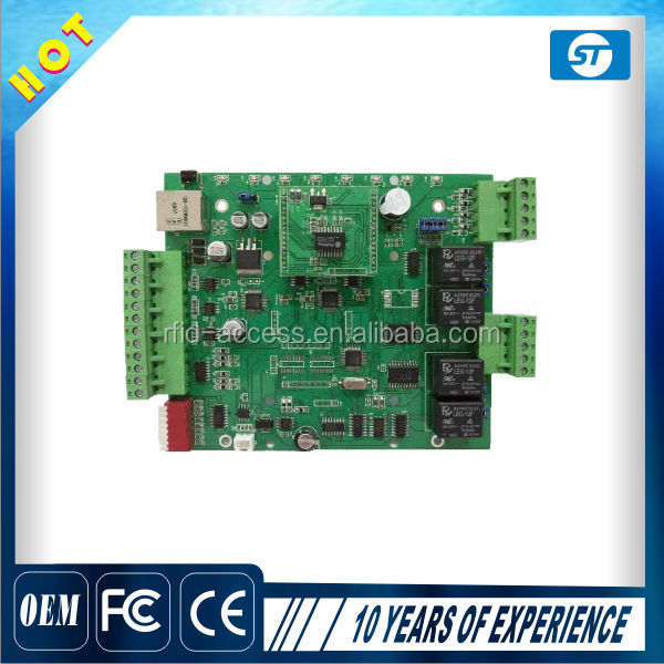RFID Network TCP/IP 16 Doors Access Controller Board