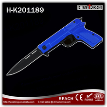 Gun Shape Latest Folding Blade Knife