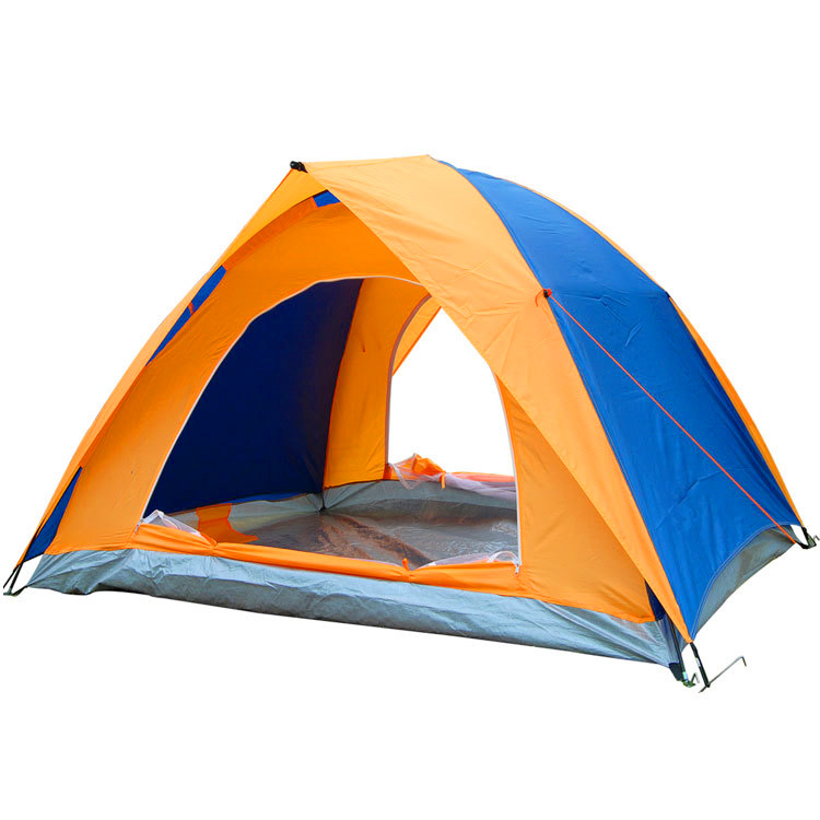 2 Person Double Layer Camping Tent Promotion Tent Wholesale Waterproof Tent