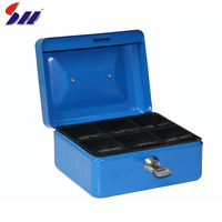 Mini portable coin security bank box