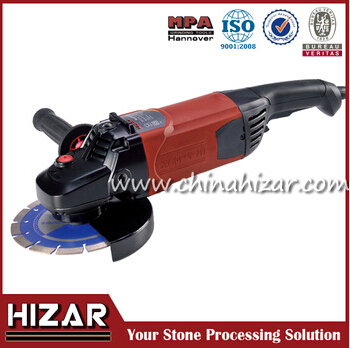 Water angle grinder for cutting disc