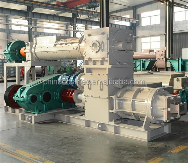 perfessional manufacturer automatic clay brick production lin / hallow block making machine
