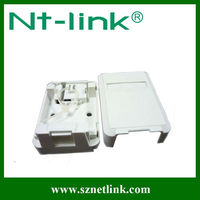 1 port surface mount plastic electrical boxes