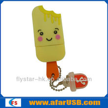 wholesale novelty usb USB disk/wholesale pendrive ice cream USB flash driver