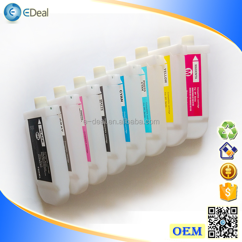 700ml Refill Ink Cartridge 701 For Canon IPF8000 IPF9000 Empty Cartridge