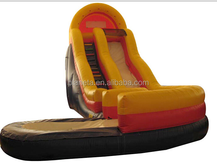 Inflatable Curve wave water slide for adults and kids for sale(PLG32-059)