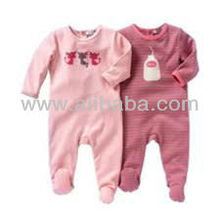 SOFT COTTON BABY SLEEPING SUITS