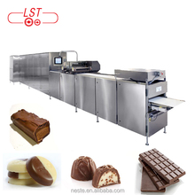 Chocolate pouring & molding machine chocolate bar production line