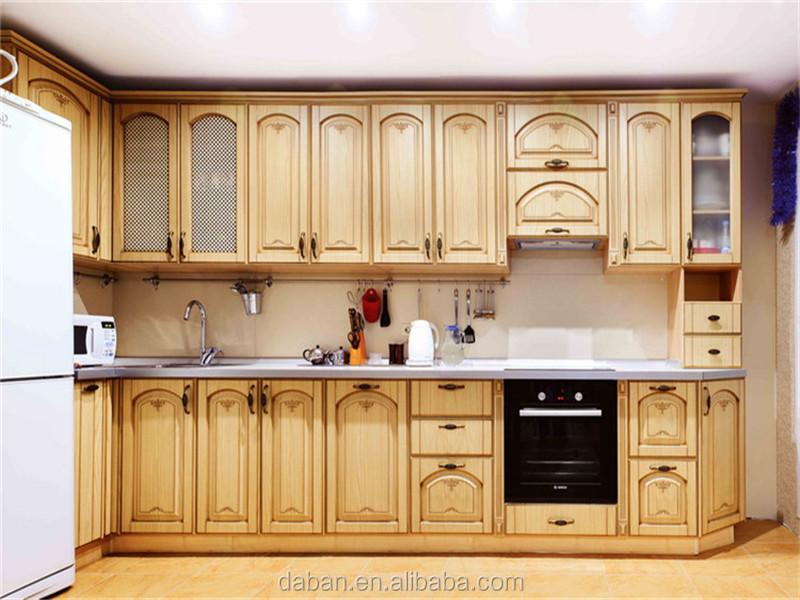Ce aprobado madera de lamo s lido mueble cocina for Planos de muebles de cocina pdf