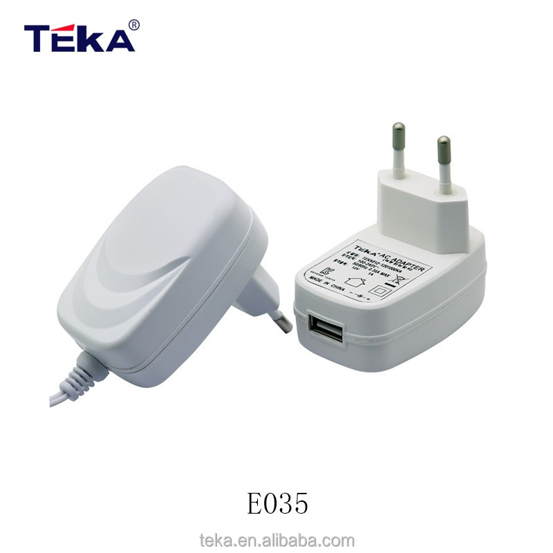 Shenzhen teka DC Output Type and Plug In Connection ac 100v-240v power supply adapter 12v 1a switching power adapt
