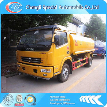 4*2 Donfeng 5000 liter water tank truck , 120HP hot sale