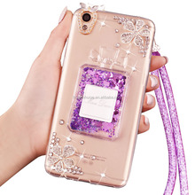TPU Glitter Bling Bling Liquid Cell Phone Case For Iphone4/4s