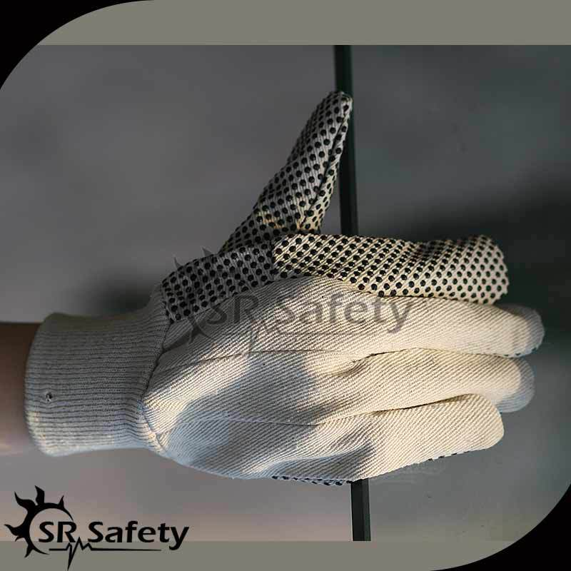 SRSAFETY best price white cotton gloves