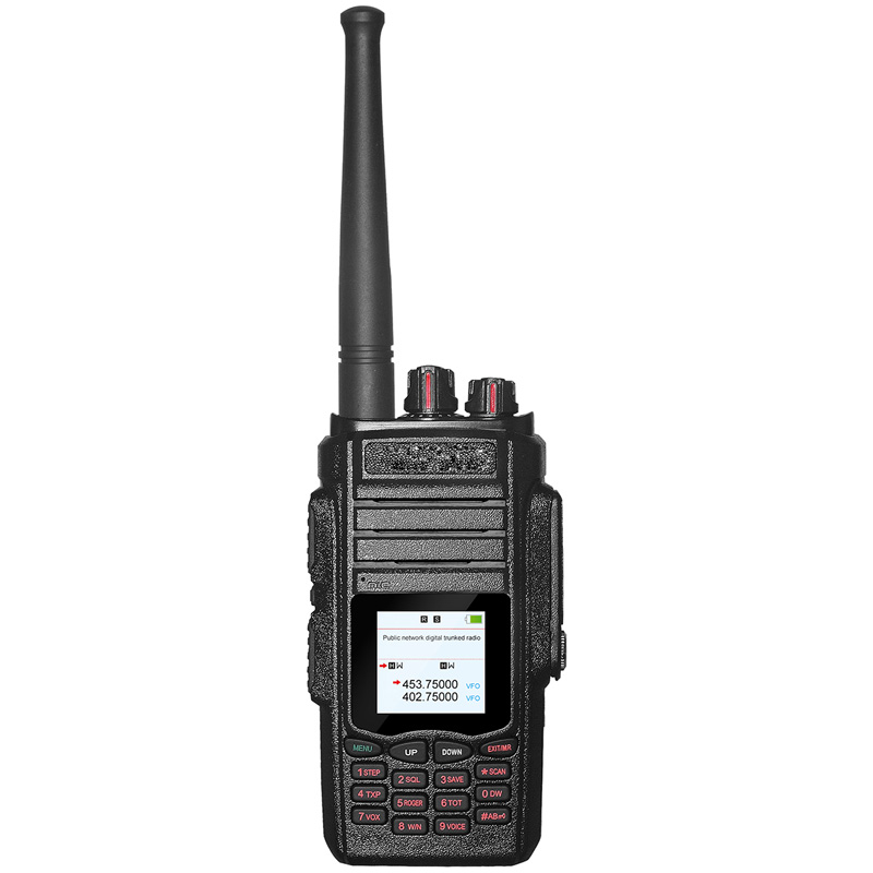 2017 ZASTONE new portable sim card public network and analog wcdma gsm walkie talkie two way radio gsm
